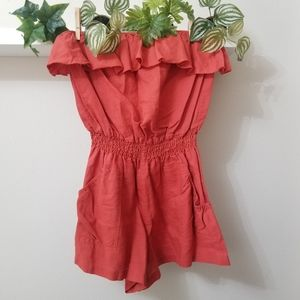 Beautiful Strapless Romper